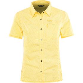 Meru Melissia Blusa SS funcional Mujer, amarillo